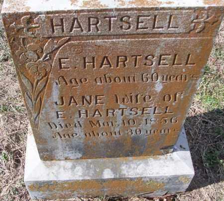 HARTSELL, JANE - White County, Arkansas   JANE HARTSELL - Arkansas Gravestone Photos