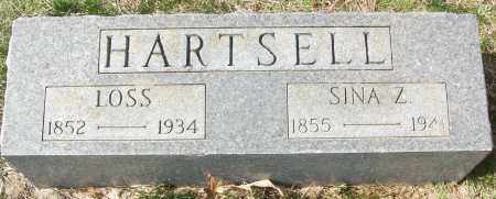 HARTSELL, LOSS - White County, Arkansas | LOSS HARTSELL - Arkansas Gravestone Photos