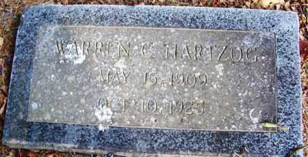 HARTZOG, WARREN C - White County, Arkansas   WARREN C HARTZOG - Arkansas Gravestone Photos