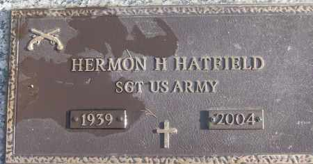 HATFIELD (VETERAN), HERMON H - White County, Arkansas   HERMON H HATFIELD (VETERAN) - Arkansas Gravestone Photos