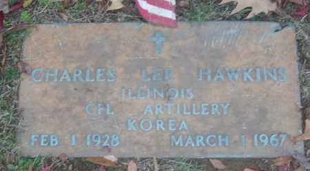 HAWKINS (VETERAN KOR), CHARLES LEE - White County, Arkansas | CHARLES LEE HAWKINS (VETERAN KOR) - Arkansas Gravestone Photos