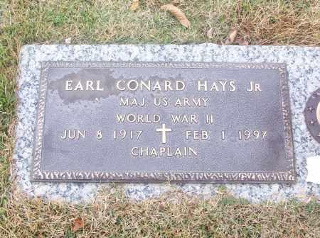 HAYS, JR  (VETERAN WWII), EARL CONARD - White County, Arkansas | EARL CONARD HAYS, JR  (VETERAN WWII) - Arkansas Gravestone Photos