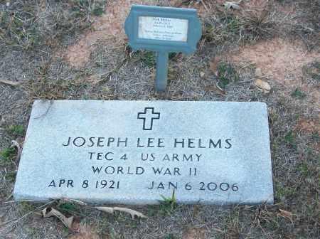 HELMS  (VETERAN WWII), JOSEPH LEE - White County, Arkansas | JOSEPH LEE HELMS  (VETERAN WWII) - Arkansas Gravestone Photos