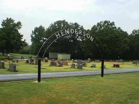 *HENDERSON CEMETERY,  - White County, Arkansas |  *HENDERSON CEMETERY - Arkansas Gravestone Photos