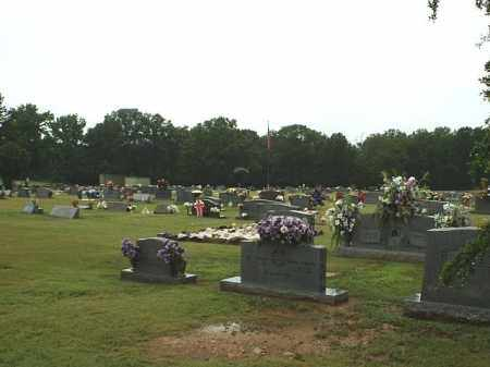 *HENDERSON CEMETERY OVERVIEW,  - White County, Arkansas |  *HENDERSON CEMETERY OVERVIEW - Arkansas Gravestone Photos