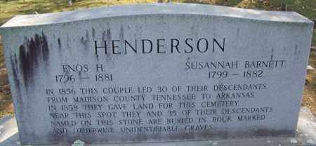 HENDERSON, SUSANNAH - White County, Arkansas | SUSANNAH HENDERSON - Arkansas Gravestone Photos