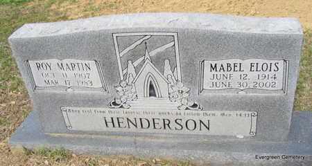 HENDERSON, ROY MARTIN - White County, Arkansas | ROY MARTIN HENDERSON - Arkansas Gravestone Photos