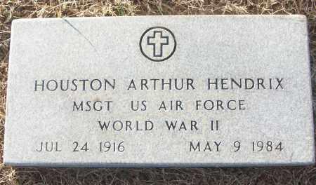HENDRIX (VETERAN WWII), HOUSTON ARTHUR - White County, Arkansas | HOUSTON ARTHUR HENDRIX (VETERAN WWII) - Arkansas Gravestone Photos