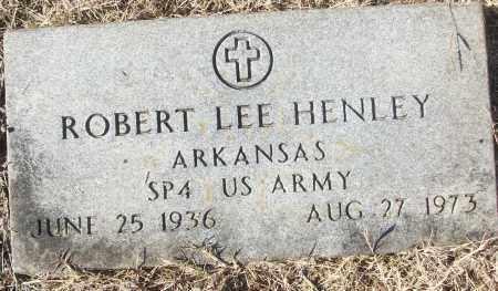 HENLEY (VETERAN), ROBERT LEE - White County, Arkansas | ROBERT LEE HENLEY (VETERAN) - Arkansas Gravestone Photos