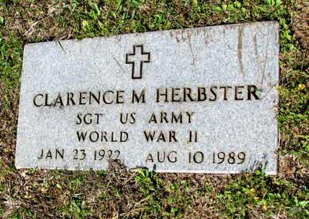 HERBSTER (VETERAN WWII), CLARENCE M - White County, Arkansas | CLARENCE M HERBSTER (VETERAN WWII) - Arkansas Gravestone Photos