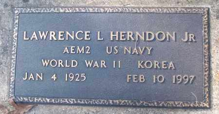 HERNDON, JR (VETERAN 2 WARS), LAWRENCE L - White County, Arkansas | LAWRENCE L HERNDON, JR (VETERAN 2 WARS) - Arkansas Gravestone Photos