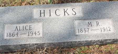 HICKS, M.R. - White County, Arkansas | M.R. HICKS - Arkansas Gravestone Photos