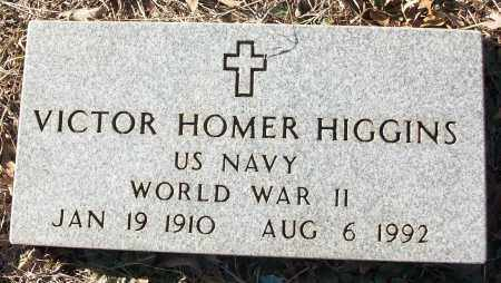 HIGGINS (VETERAN WWII), VICTOR HOMER - White County, Arkansas | VICTOR HOMER HIGGINS (VETERAN WWII) - Arkansas Gravestone Photos