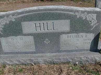 HILL, REUBEN L - White County, Arkansas | REUBEN L HILL - Arkansas Gravestone Photos