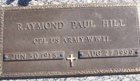 HILL (VETERAN WWII), RAYMOND PAUL - White County, Arkansas | RAYMOND PAUL HILL (VETERAN WWII) - Arkansas Gravestone Photos