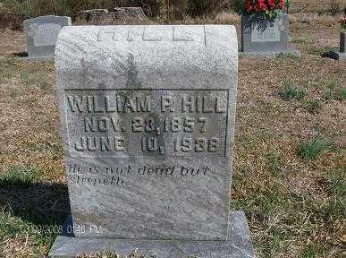 HILL, WILLIAM PRUITT - White County, Arkansas | WILLIAM PRUITT HILL - Arkansas Gravestone Photos