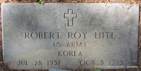 HITE (VETERAN KOR), ROBERT ROY - White County, Arkansas   ROBERT ROY HITE (VETERAN KOR) - Arkansas Gravestone Photos