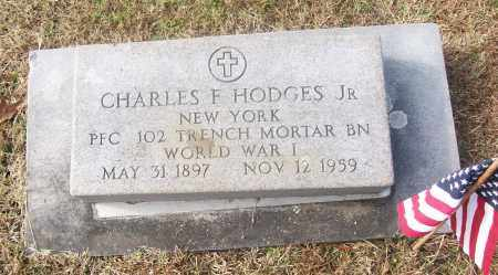 HODGES, JR  (VETERAN WWI), CHARLES F - White County, Arkansas | CHARLES F HODGES, JR  (VETERAN WWI) - Arkansas Gravestone Photos