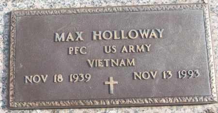 HOLLOWAY (VETERAN VIET), MAX - White County, Arkansas   MAX HOLLOWAY (VETERAN VIET) - Arkansas Gravestone Photos
