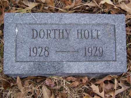 HOLT, DORTHY - White County, Arkansas | DORTHY HOLT - Arkansas Gravestone Photos