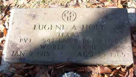 HOLT (VETERAN WWII), EUGENE A - White County, Arkansas | EUGENE A HOLT (VETERAN WWII) - Arkansas Gravestone Photos