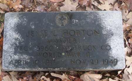HORTON  (VETERAN WWII), JESSE L - White County, Arkansas | JESSE L HORTON  (VETERAN WWII) - Arkansas Gravestone Photos