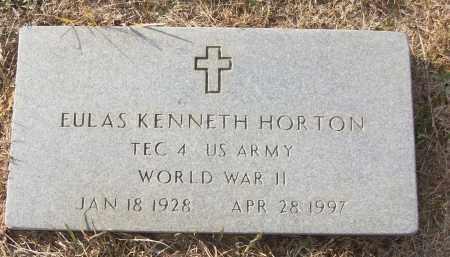 HORTON (VETERAN WWII), EULAS KENNETH - White County, Arkansas | EULAS KENNETH HORTON (VETERAN WWII) - Arkansas Gravestone Photos