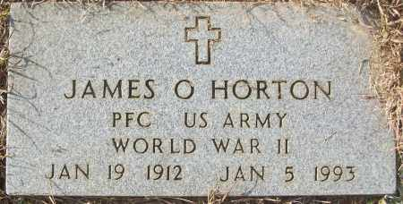HORTON (VETERAN WWII), JAMES O - White County, Arkansas | JAMES O HORTON (VETERAN WWII) - Arkansas Gravestone Photos