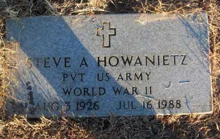 HOWANIETZ (VETERAN WWII), STEVE A - White County, Arkansas | STEVE A HOWANIETZ (VETERAN WWII) - Arkansas Gravestone Photos