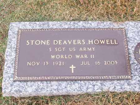 HOWELL  (VETERAN WWII), STONE DEAVERS - White County, Arkansas | STONE DEAVERS HOWELL  (VETERAN WWII) - Arkansas Gravestone Photos