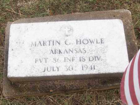 HOWLE  (VETERAN), MARTIN G - White County, Arkansas   MARTIN G HOWLE  (VETERAN) - Arkansas Gravestone Photos