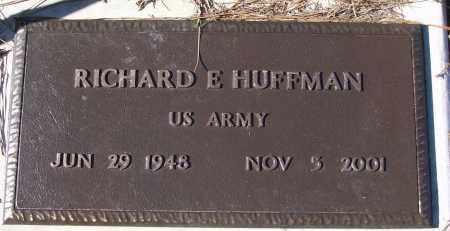 HUFFMAN (VETERAN), RICHARD E - White County, Arkansas   RICHARD E HUFFMAN (VETERAN) - Arkansas Gravestone Photos