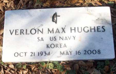 HUGHES (VETERAN KOR), VERLON MAX - White County, Arkansas | VERLON MAX HUGHES (VETERAN KOR) - Arkansas Gravestone Photos