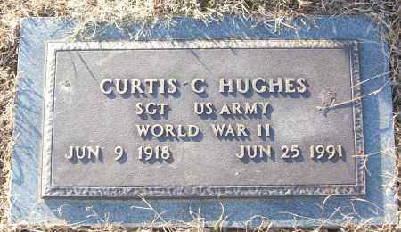 HUGHES (VETERAN WWII), CURTIS C - White County, Arkansas | CURTIS C HUGHES (VETERAN WWII) - Arkansas Gravestone Photos