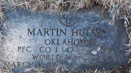 HULSEY (VETERAN WWI), MARTIN - White County, Arkansas | MARTIN HULSEY (VETERAN WWI) - Arkansas Gravestone Photos