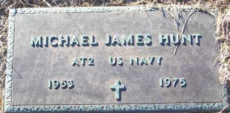 HUNT (VETERAN), MICHAEL JAMES - White County, Arkansas | MICHAEL JAMES HUNT (VETERAN) - Arkansas Gravestone Photos