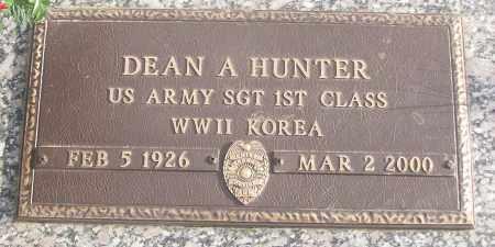HUNTER (VETERAN 2 WARS), DEAN - White County, Arkansas | DEAN HUNTER (VETERAN 2 WARS) - Arkansas Gravestone Photos