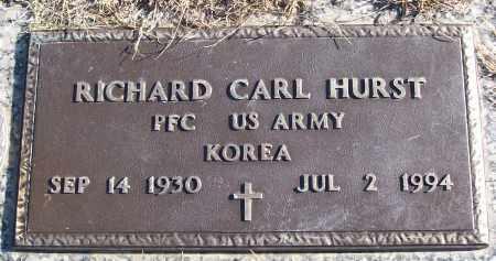 HURST (VETERAN KOR), RICHARD CARL - White County, Arkansas | RICHARD CARL HURST (VETERAN KOR) - Arkansas Gravestone Photos