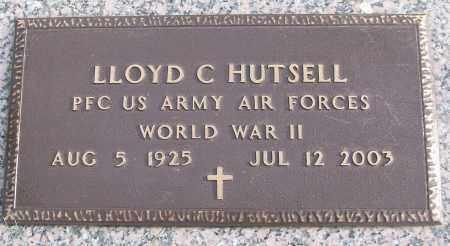 HUTSELL (VETERAN WWII), LLOYD C - White County, Arkansas | LLOYD C HUTSELL (VETERAN WWII) - Arkansas Gravestone Photos