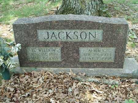JACKSON, ALMA G - White County, Arkansas | ALMA G JACKSON - Arkansas Gravestone Photos