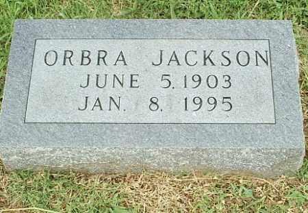 JACKSON, ORBRA - White County, Arkansas | ORBRA JACKSON - Arkansas Gravestone Photos