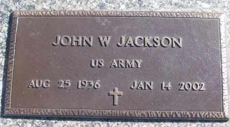 JACKSON (VETERAN), JOHN W - White County, Arkansas | JOHN W JACKSON (VETERAN) - Arkansas Gravestone Photos