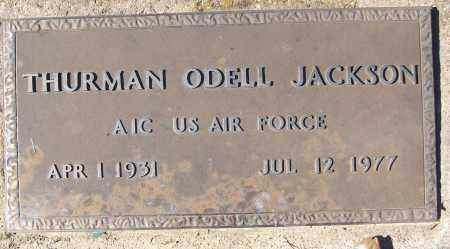 JACKSON (VETERAN), THURMAN ODELL - White County, Arkansas | THURMAN ODELL JACKSON (VETERAN) - Arkansas Gravestone Photos