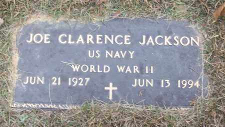 JACKSON (VETERAN WWII), JOE CLARENCE - White County, Arkansas | JOE CLARENCE JACKSON (VETERAN WWII) - Arkansas Gravestone Photos