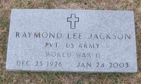 JACKSON (VETERAN WWII), RAYMOND LEE - White County, Arkansas | RAYMOND LEE JACKSON (VETERAN WWII) - Arkansas Gravestone Photos