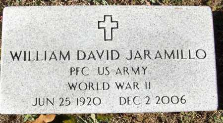 JARAMILLO (VETERAN WWII), WILLIAM DAVID - White County, Arkansas | WILLIAM DAVID JARAMILLO (VETERAN WWII) - Arkansas Gravestone Photos