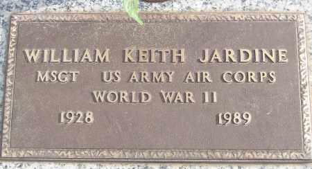 JARDINE (VETERAN WWII), WILLIAM KEITH - White County, Arkansas | WILLIAM KEITH JARDINE (VETERAN WWII) - Arkansas Gravestone Photos