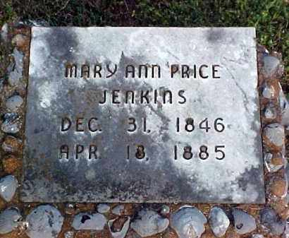 PRICE JENKINS, MARY ANN - White County, Arkansas | MARY ANN PRICE JENKINS - Arkansas Gravestone Photos