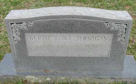 JERNIGAN, BERTIE - White County, Arkansas | BERTIE JERNIGAN - Arkansas Gravestone Photos