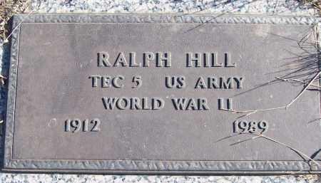 JILL (VETERAN WWII), RALPH - White County, Arkansas   RALPH JILL (VETERAN WWII) - Arkansas Gravestone Photos
